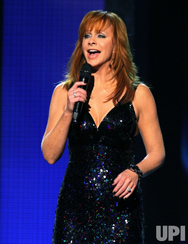 Reba McEntire performs during the Country Music Awards in Nashville