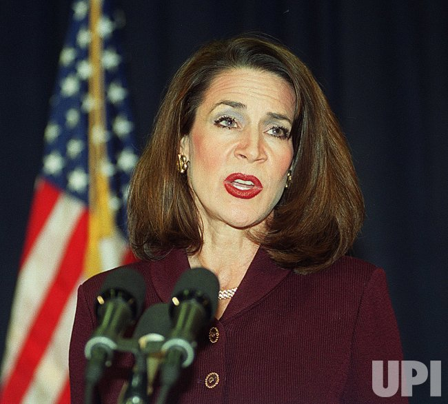 Florida Secretary of State Katherine Harris. Harris