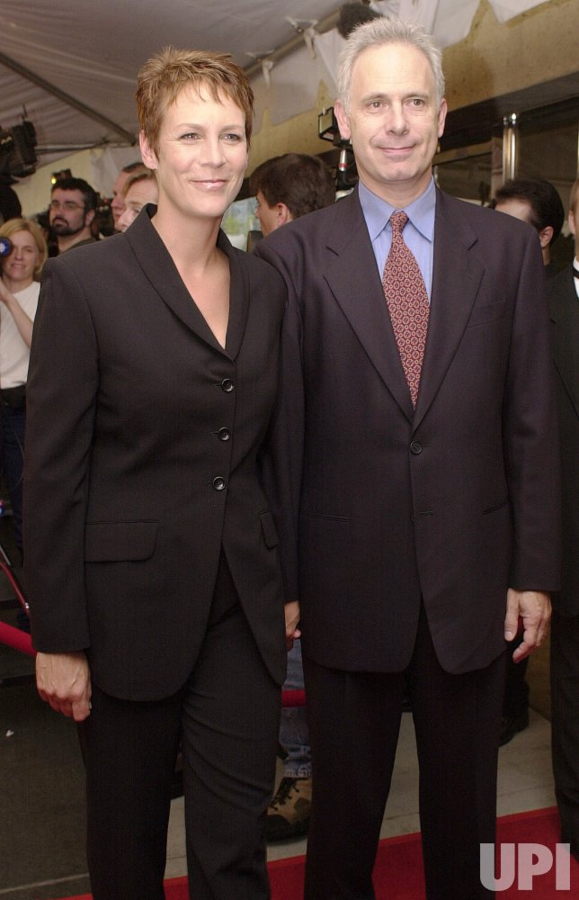 Jamie Lee Curtis and Christopher Guest at the Toronto Film Festival