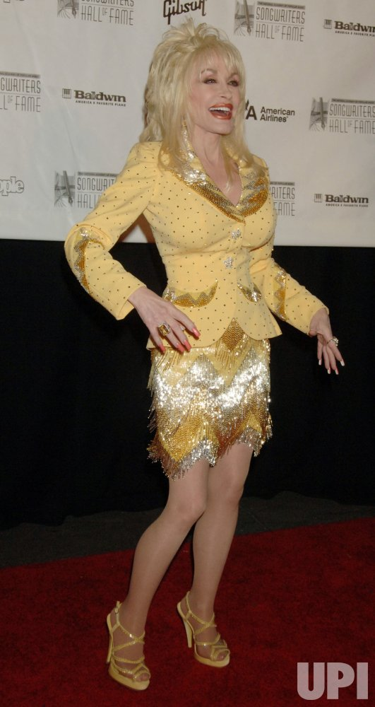 DOLLY PARTON HONORED BY SONGWRITERS HALL OF FAME IN NEW YORK