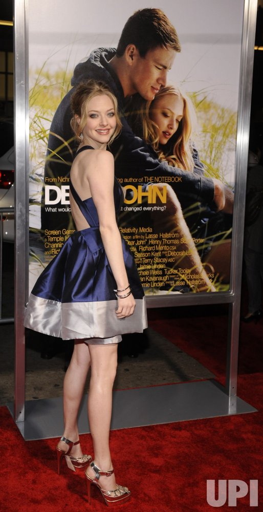 Cast member Amanda Seyfried attends the premiere of the film