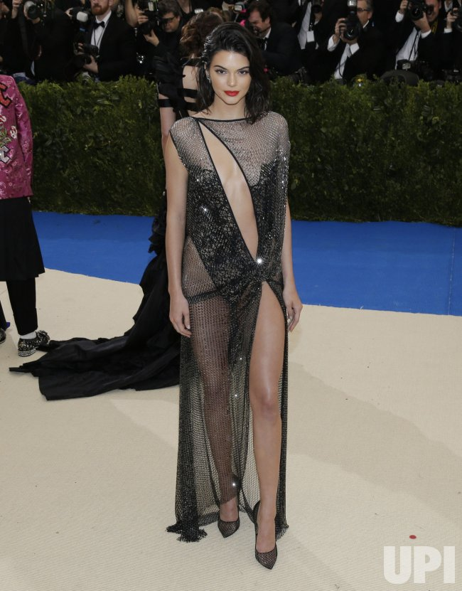 Kendall Jenner at the Met Costume Benefit