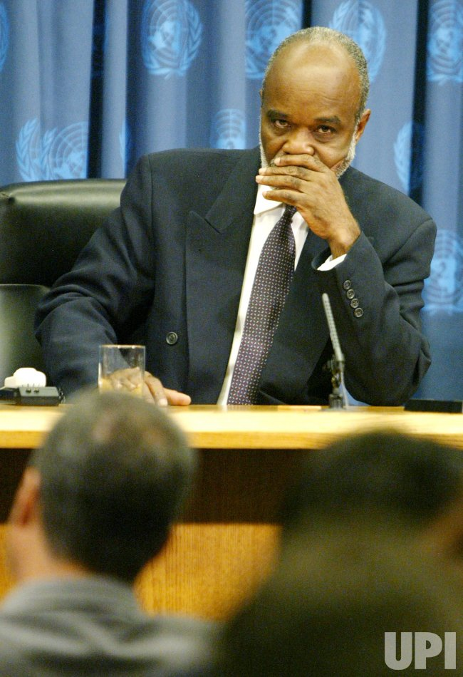 HAITI'S PRESIDENT ELECT VISITS THE UNITED NATIONS