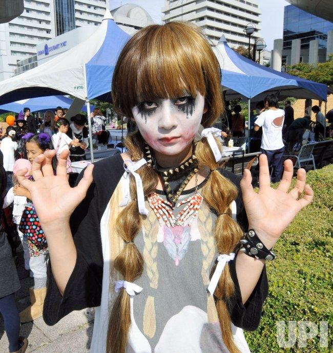 Halloween festival in Kobe