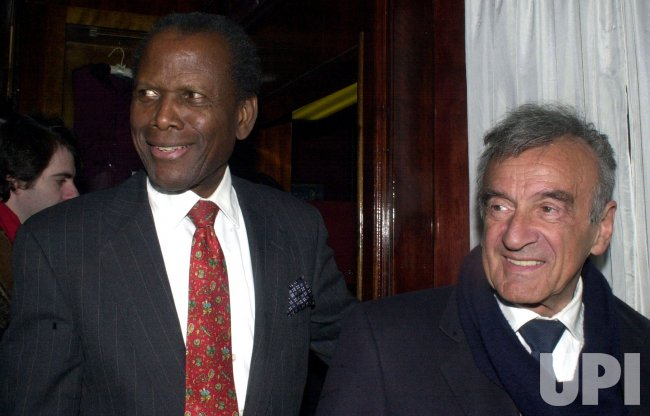 POITIER AND WIESEL ATTEND JUDGMENT AT NUREMBERG PLAY