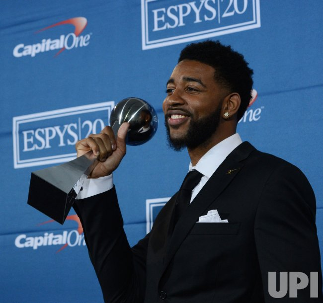 Christian Watford appears backstage at the 2012 ESPY Awards in Los Angeles