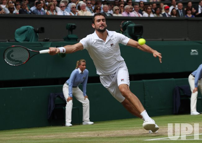 Federer vs Cilic in Men's Final at Wimbledon