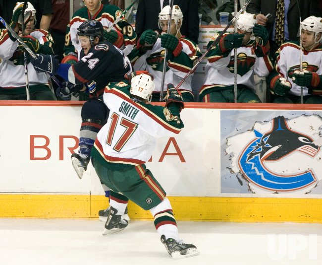 MINNESOTA WILD VS VANCOUVER CANUCKS