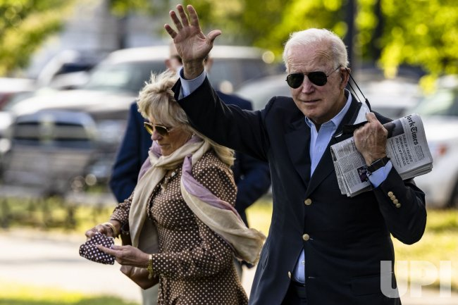 Biden Departs White House for the Weekend