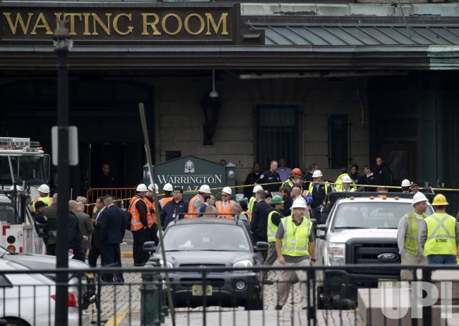 Train Crash in Hoboken New Jersey