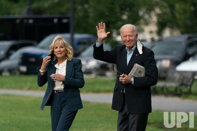 President Joe Biden and First Lady Dr. Jill Biden Depart the White House
