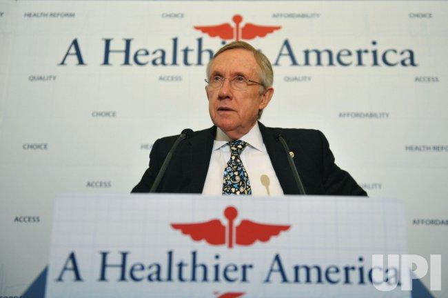 Demcratic Congressional leaders speak on Healthcare in Washington