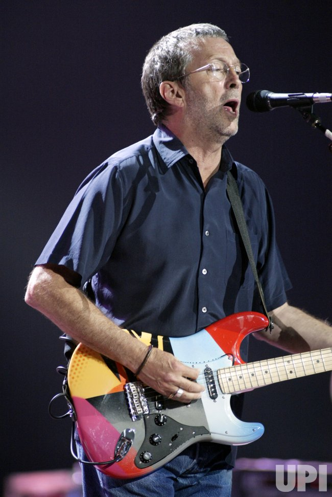ERIC CLAPTON IN CONCERT