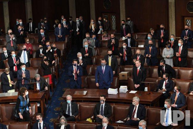 Congress Counts Electoral College Votes