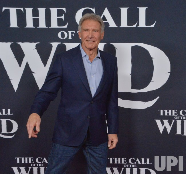 "Harrison Ford attends ""The Call of the Wild"" premiere in Los Angeles"