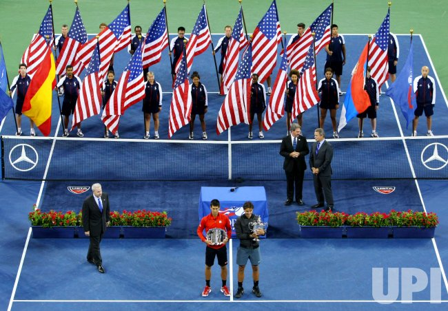 Rafael Nadal wins men's championship title at the U.S. Open in New York