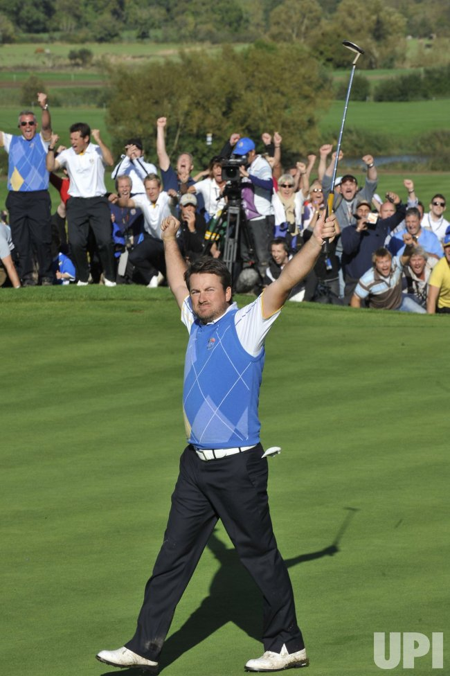 Mcdowell wins the Ryder Cup