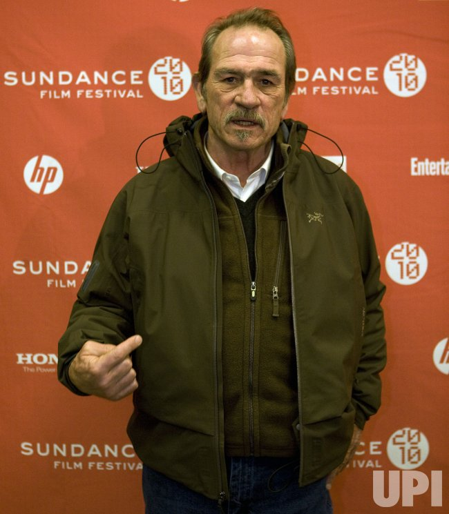 Tommy Lee Jones Arrives at the 2010 Sundance Film Festival in Park City, Utah