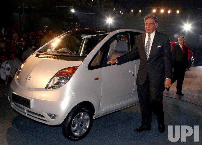 WORLD'S CHEAPEST CAR UNVEILED IN INDIA