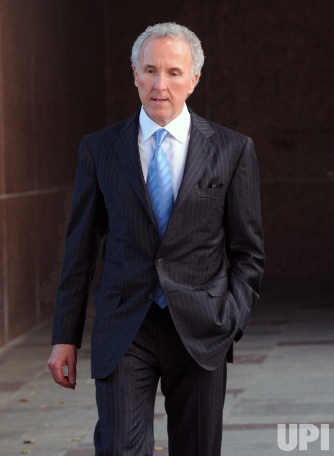 Frank McCourt departs Superior Court in Los Angeles