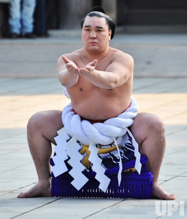 Ring Entering Ceremony at Meiji Shrine in Tokyo
