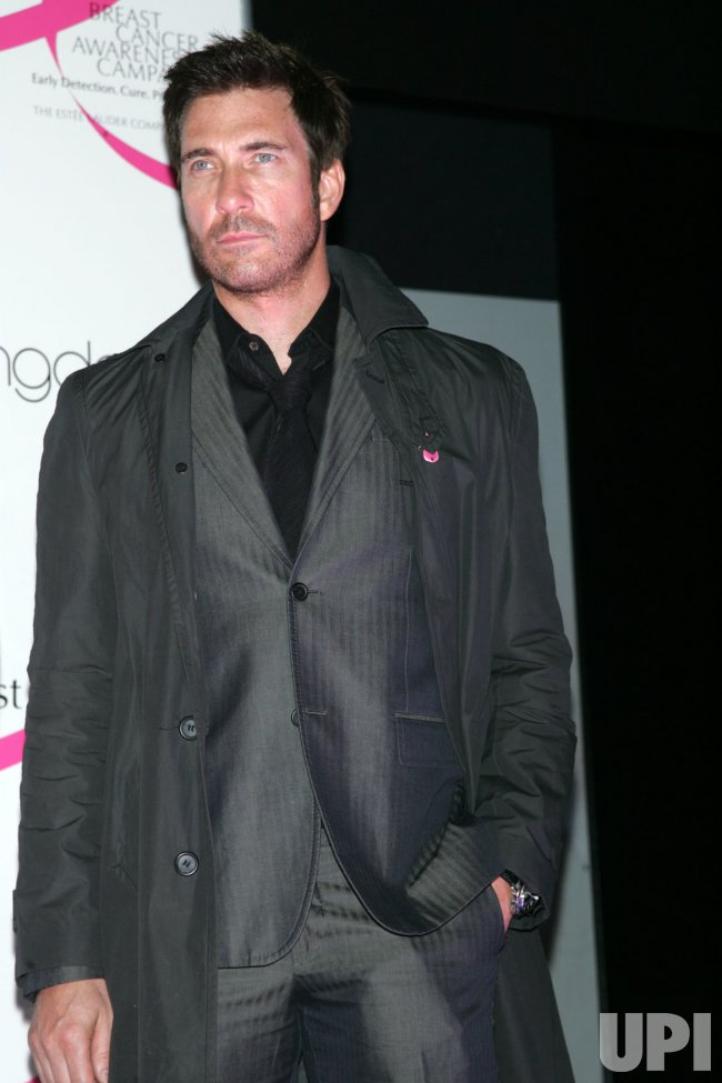 Dylan McDermott lights Bloomingdales Pink for Breast Cancer Awareness in New York