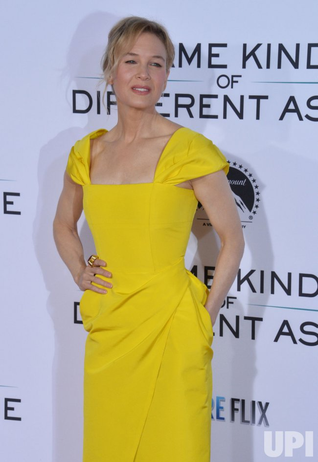 """Renee Zellweger attends the """"Same Kind of Different as Me"""" premiere in Los Angeles"""