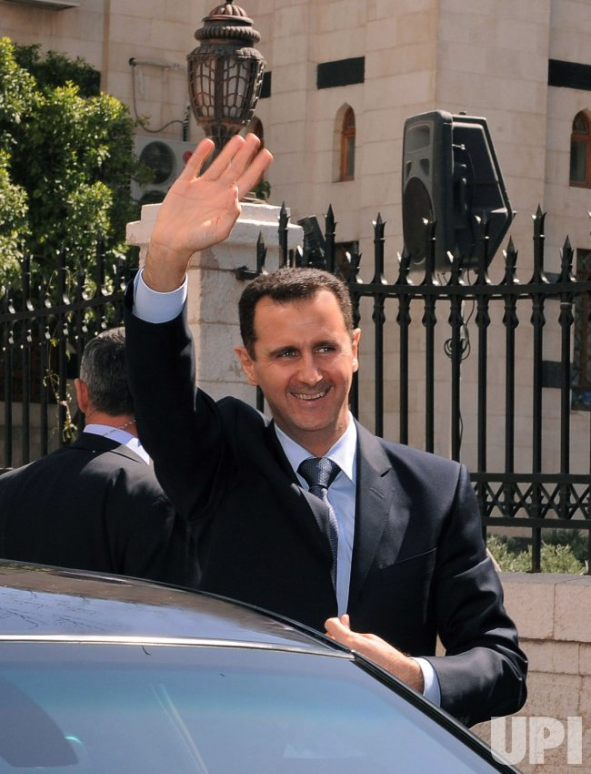 Syrian President Bashar al-Assad Address Parliament