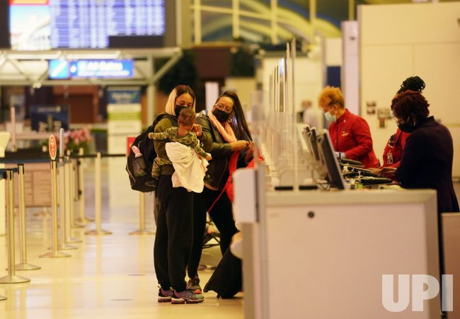 St. Louis Lambert International Airport Not Busy For Thanksgiving