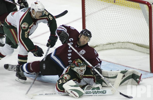 NHL MINNESOTA WILD VS COLORADO AVALANCHE