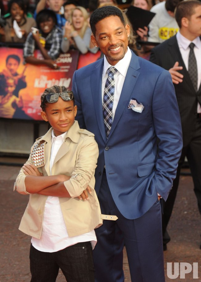 "Jaden and Will Smith attend ""The Karate Kid"" premiere"