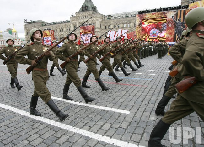 A VICTORY DAY MILITARY PARADE IN MOSCOW