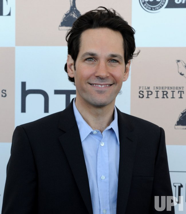Paul Rudd arrives at the 2011 Film Independent Spirit Awards in Santa Monica, California