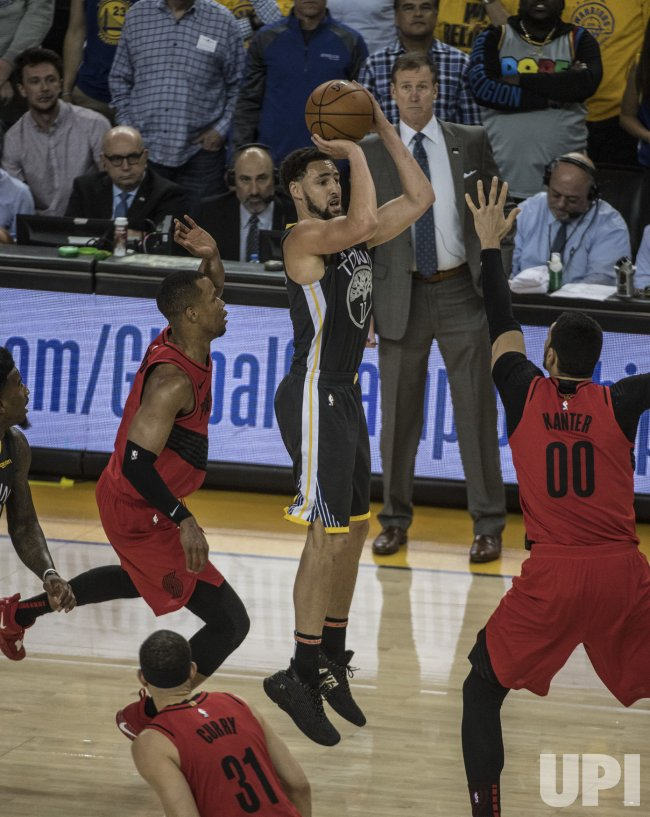 trail blazers vs warriors - photo #4