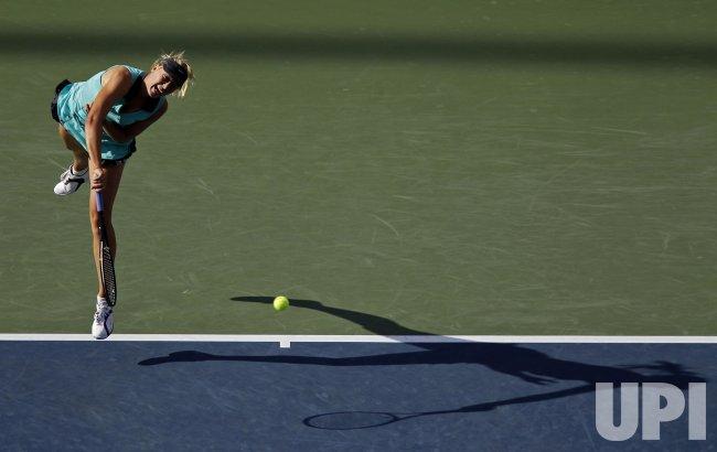 Maria Sharapova at the U.S. Open Tennis Championships in New York