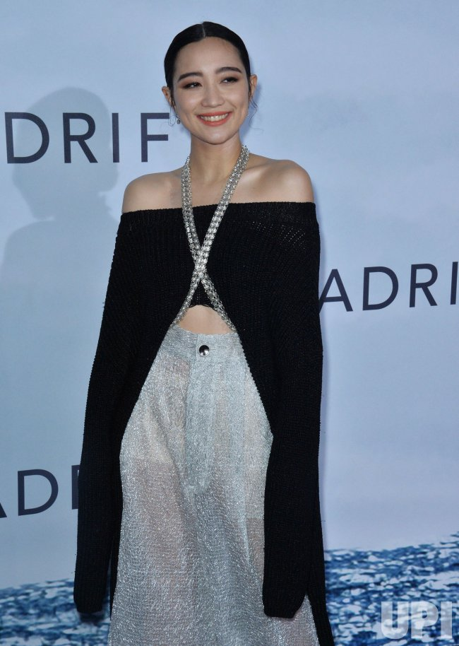 """Tien Chong attends the """"Adrift"""" premiere in Los Angeles"""