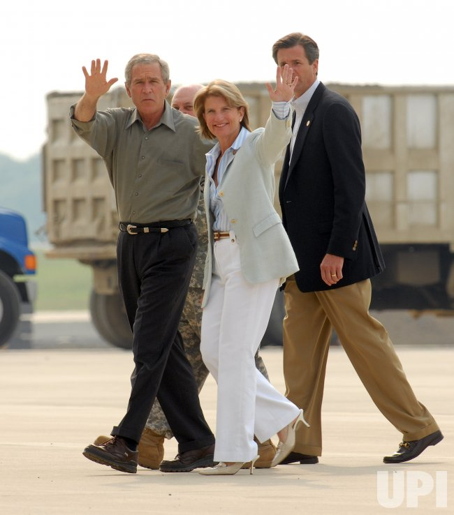 BUSH SPEAKS TO WV AIR NATIONAL GUARD ON JULY 4TH IN
