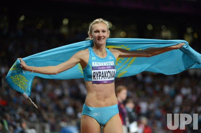 Women's Triple Jump Final at London Olympics