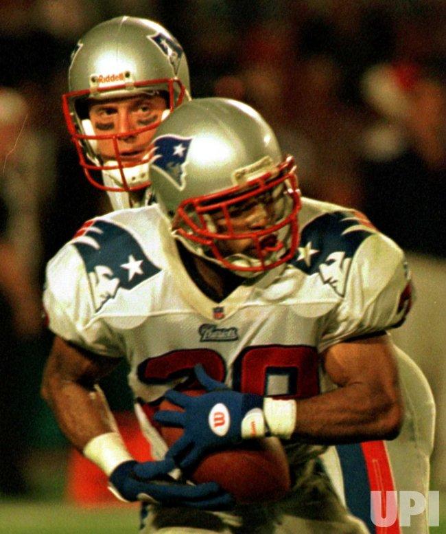 New England Patriots Curtis Martin