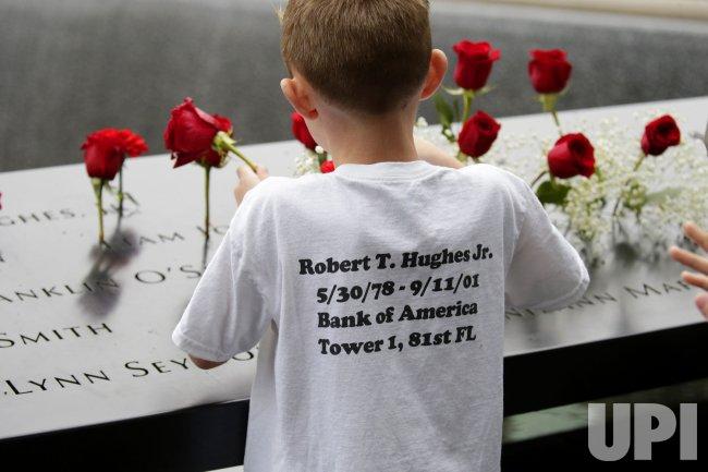 17th anniversary of 9/11 terrorist attacks ceremony in New York