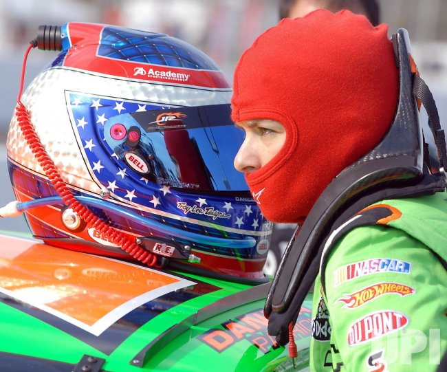 Danica Patrick in the 5-hour Energy 250 NASCAR Race