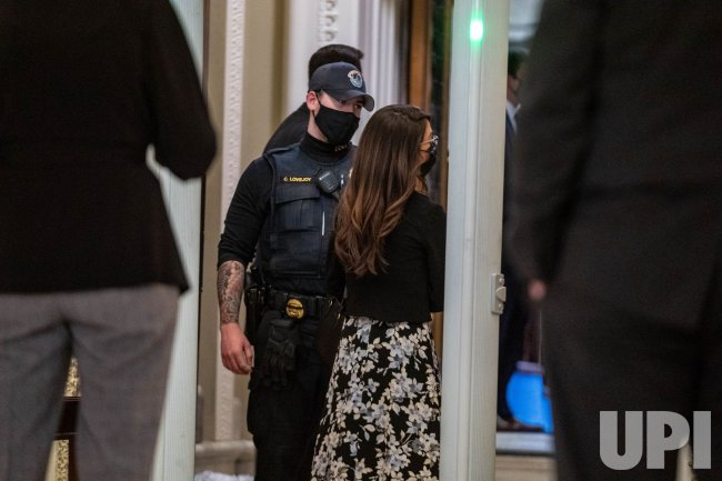 Rep. Lauren Boebert stand-off with security