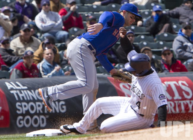New York Mets vs Colorado Rockies in Denver