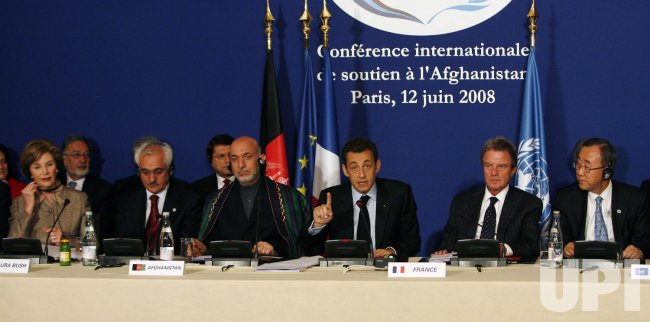 Afghanistan donor conference in Paris