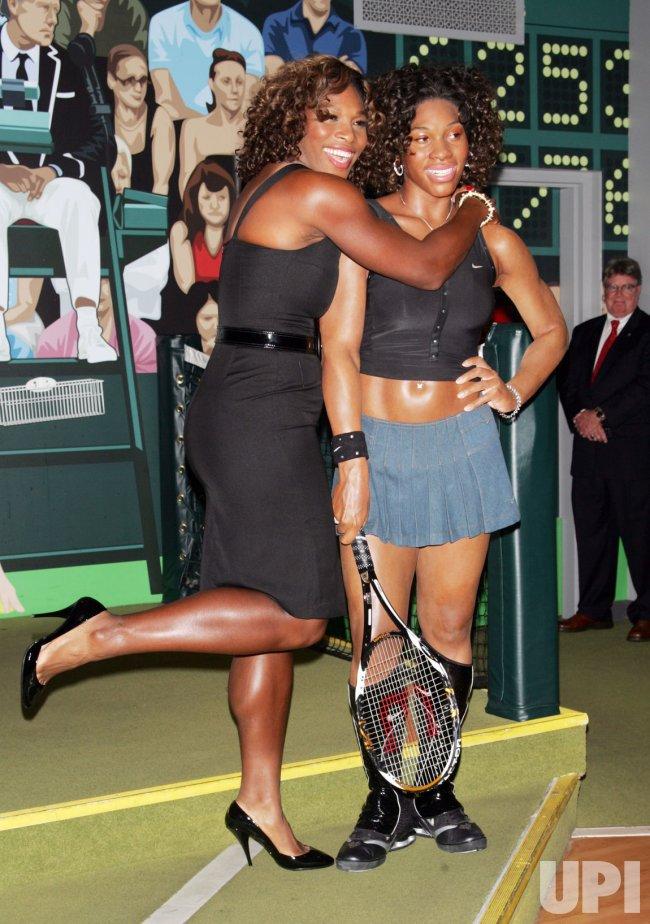 Serena Williams unveils her wax figure at Madame Tussauds Wax Museum in New York