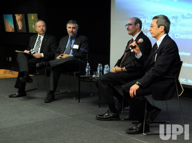 2008 American Nobel Prize Laureates speak in Washington