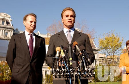 SCHWARZENEGGER MEETS WITH VICE PRESIDENT TO DISCUSS WILD FIRES