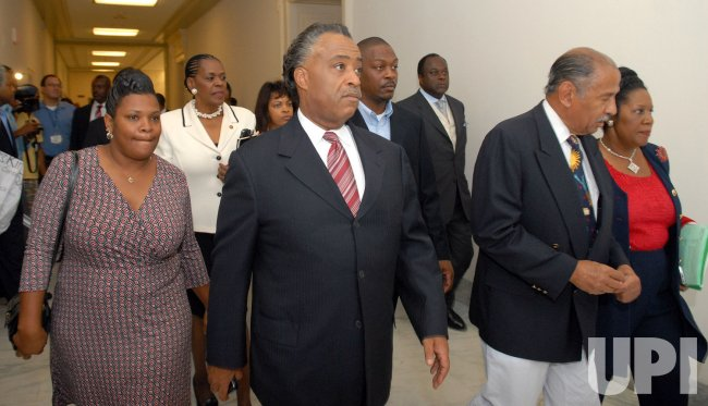 SHARPTON, CONYERS MEET WITH JENA 6 MOTHER ON CAPITOL HILL