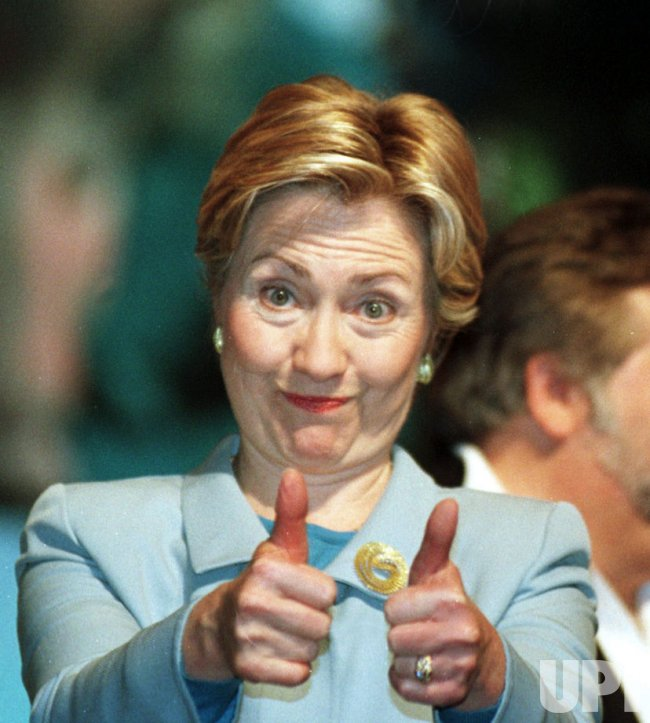 First Lady Hillary Clinton