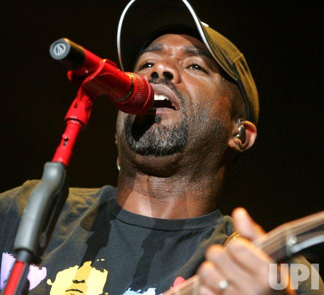 Darius Rucker performs in concert in Daytona Beach, Florida